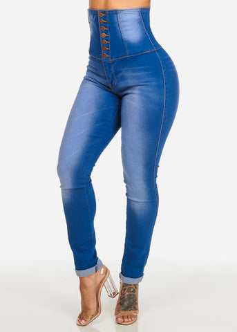 Image of Ultra High Rise Butt Lifting Skinny Jeans