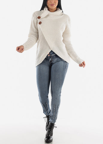 Image of Low Rise Butt Lifting Dark Acid Wash Skinny Jeans