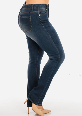 Image of NINE PLANET Plus Size High Rise Denim Jeans