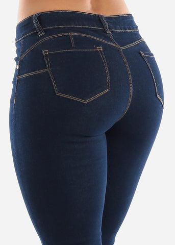 Straight Leg Butt Lift Jeans