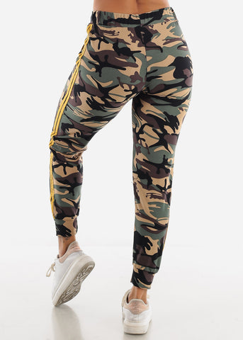Image of Camo Print Joggers