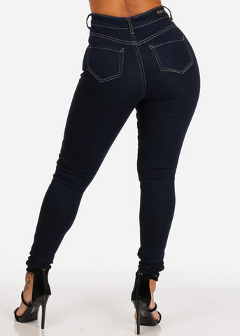 Classic Ultra High Waisted Skinny Jeans