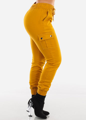 Image of Mustard Cargo Jogger Pants
