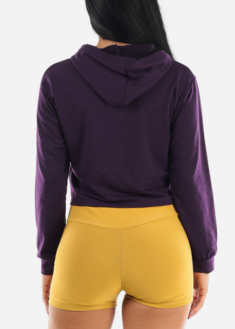 "Image of ""Sweet Like Honey"" Purple Graphic Hoodie"