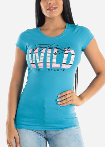 "Image of ""Stay Wild"" Graphic Tee"