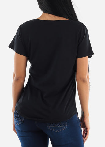 """Stand Up For Love"" Black Top"