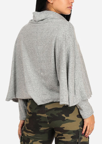 Image of Light Grey Sweater Top