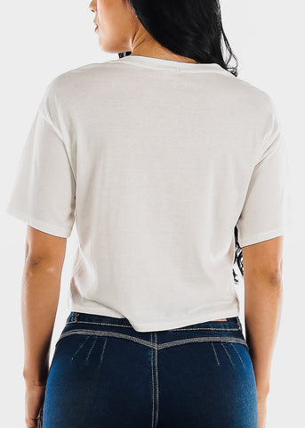 "Image of White Graphic Top ""Free Spirit"""