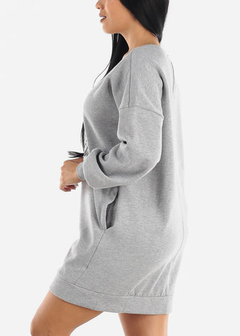 """Love Never Ends"" Tunic Sweater Dress"