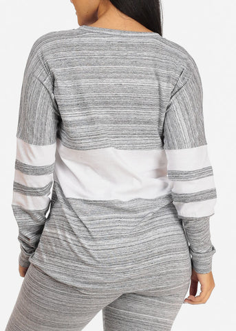 Image of Charcoal Crew Neck Sweatshirt