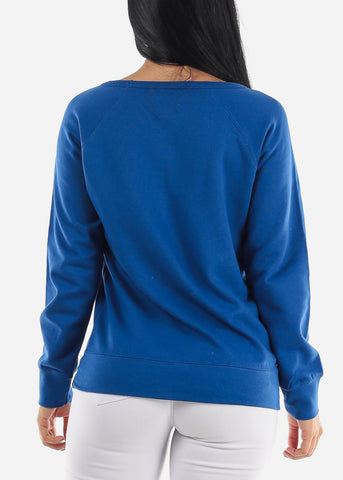 "Image of ""Have A Dream"" Blue Sweatshirt"