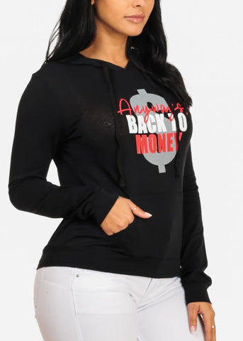 Image of Back to Money Graphic Sweater