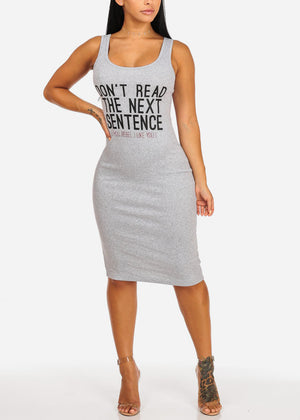 Don't Read the Next Sentence Dress