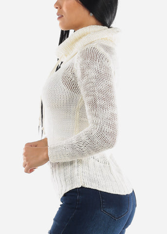 Turtleneck Loose Knit Sweater