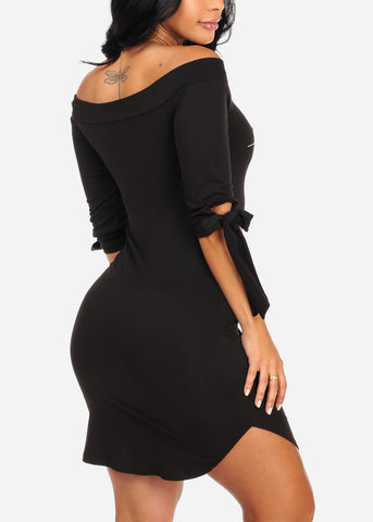 Image of Sassy Black I Don't Want it Dress