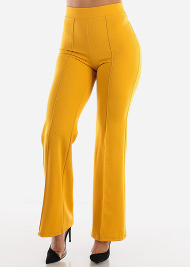 Mustard Wide Legged Pants