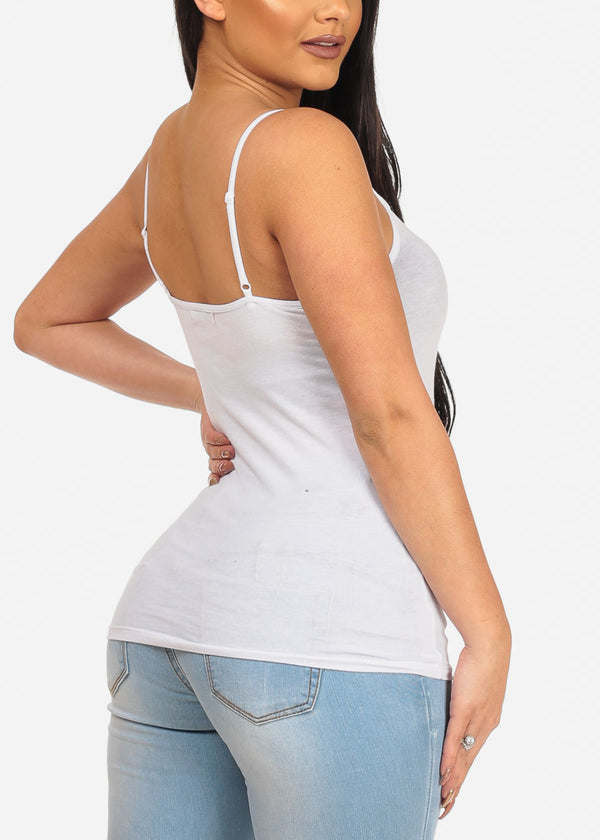 Essential White Tank Top