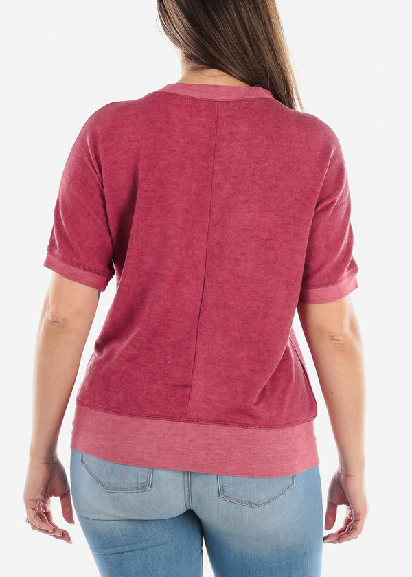 Ruby Graphic Top
