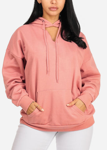 Image of Dope Graphic Pink Sweater