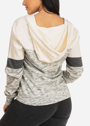 Multicolor Ivory Sweater