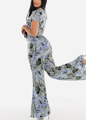 Image of Tropical Lightweight Jumpsuit