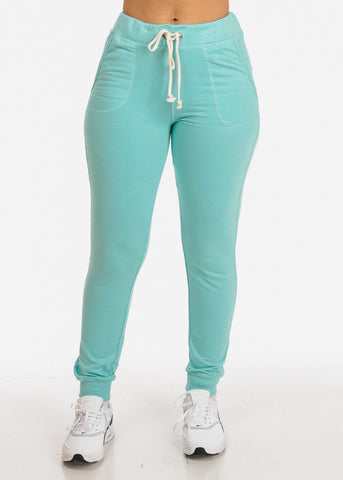 Mint High Rise Jogger Pants