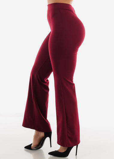 High Waist Wide Legged Ruby Pants
