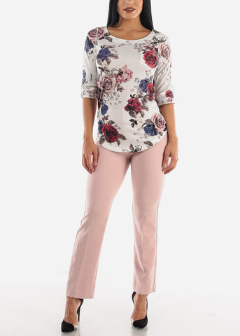Image of Rose High Waist Dressy Pants