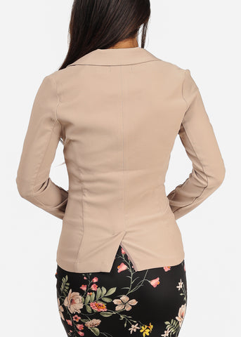 Image of Classic Dressy taupe Blazer