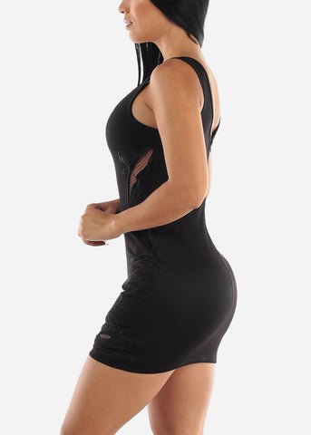 Image of Sexy Black Dress