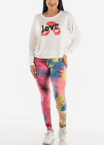 Multi Tie Dye Leggings