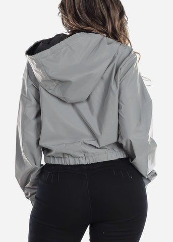 Image of Grey Reflective Jacket