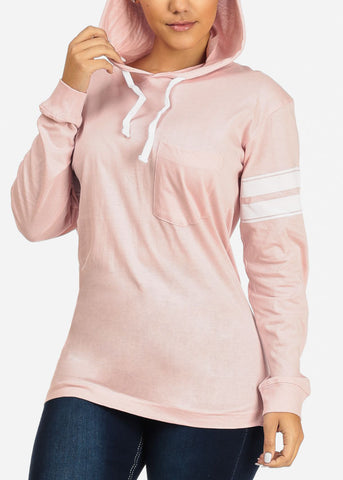 Basic Rose Sweatshirt W Hood