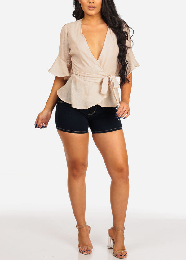 Lightweight Taupe Top