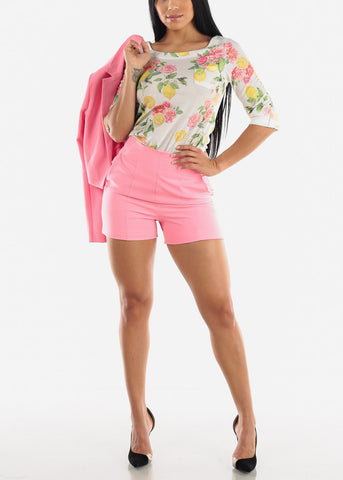 Image of Pink Dressy Shorts