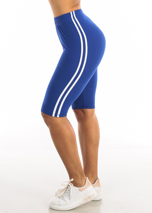 Activewear Royal Blue Bermuda Shorts