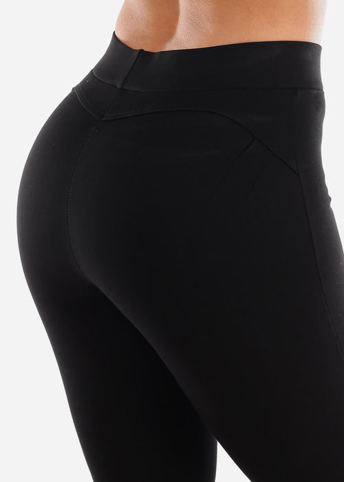 Butt Lifting Black Skinny Pants