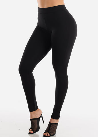 Image of Butt Lifting Black Skinny Pants