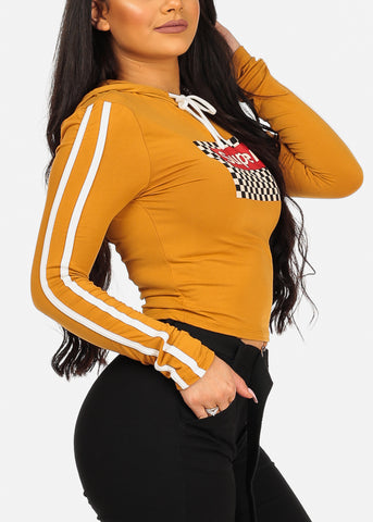 Image of Cute Casual Super Graphic Stretchy Top