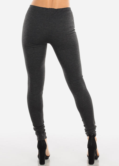 Dark Grey Skinny Pants
