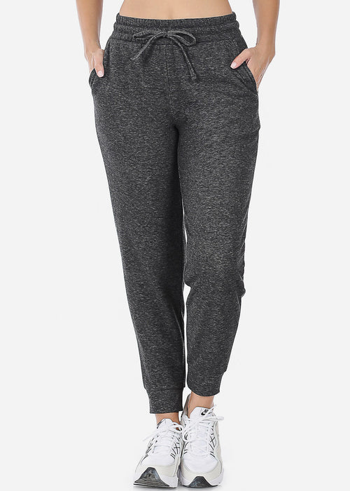 Fleece Heather Charcoal Jogger Sweatpants