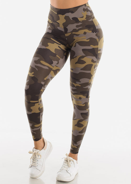 Cute Camouflage Leggings
