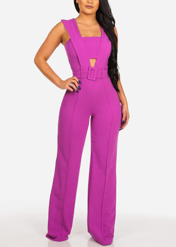 Women's Junior Ladies Sexy Night Out Club Wear Party Gala Trendy Stylish Purple Jumper
