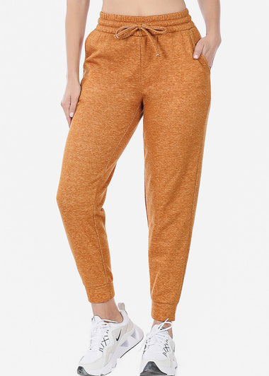 Fleece Heather Almond Jogger Sweatpants