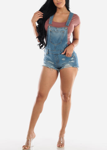 Image of Short Sleeve Old Rose Casual Bodysuit
