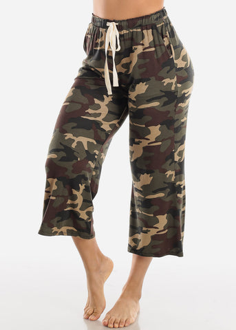 Image of Camouflage Cropped Pants