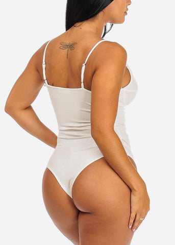 Stylish Ivory Bodysuit