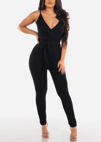 Sexy Night Out Super Stretchy Slim Fit 2019 Miami Trends Hot Black Jumper Jumpsuit