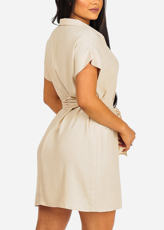 Must Have Beige Dress