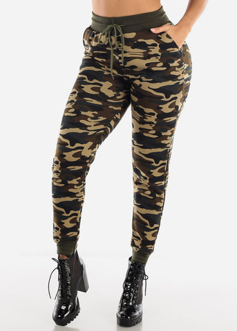 Image of Camo Jogger Pants & Hoodie Set